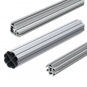 Aluminium profiles, accessories