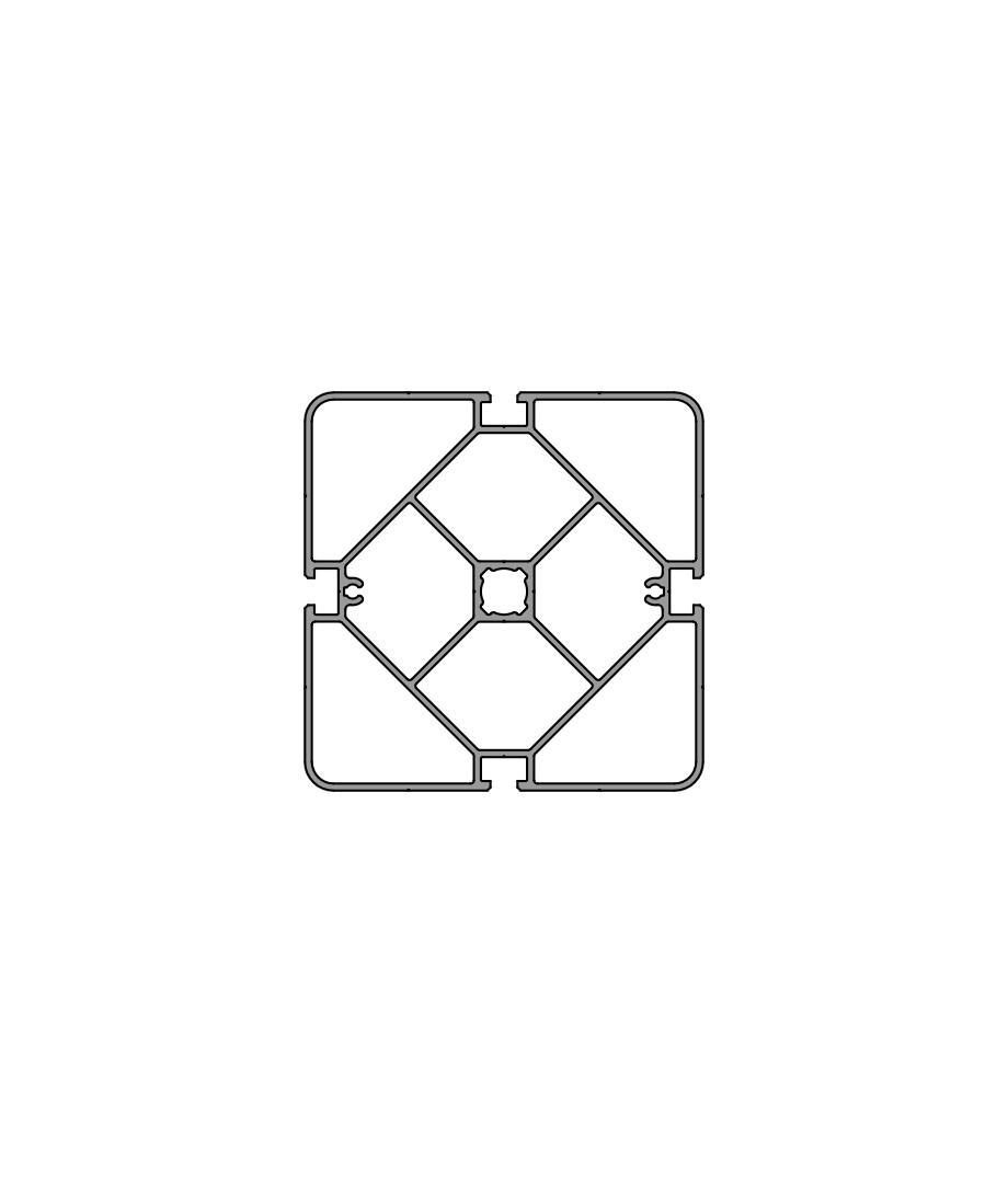 Стенд профиль PS 125