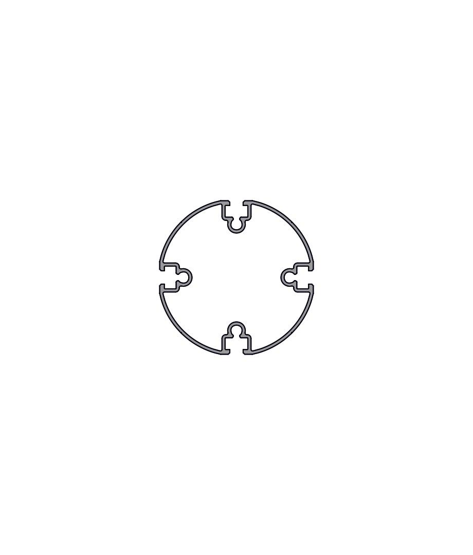Пустотелый профиль PH 100-4