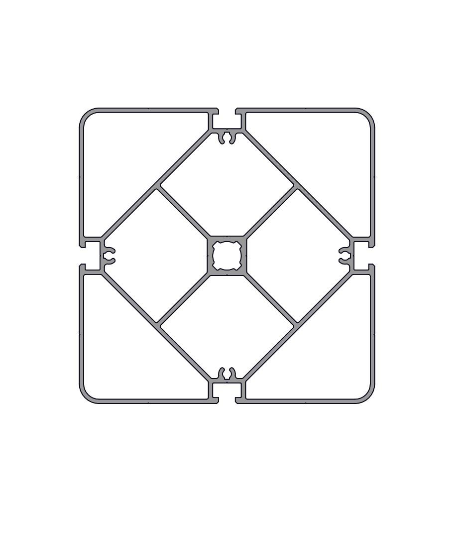 Стенд профиль PS 150