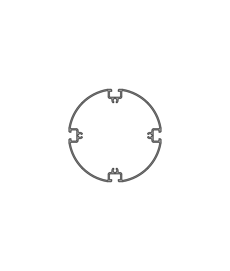Пустотелый профиль PH 125-4