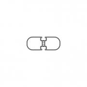 Рамочный и прямоугольный профиль PV 100-1