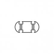 Рамочный и прямоугольный профиль PV 100-2