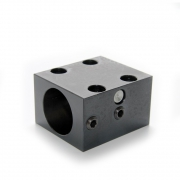 Spannblock 1 für Rundmutter - Kugelgewindespindel Ø16mm/ Ø20mm/ Ø25mm   (Fußbefestigung)