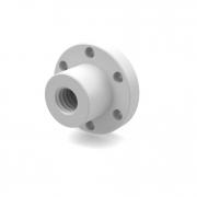 Kunststoffmutter Flanschausführung Ø12 mm für Kugelgewindespindel