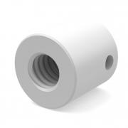 Пластиковая гайка круглая Ø12 мм для Шарикового ходового винта