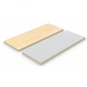 Декоративная панель DP25 светло-серый/клен