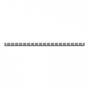 Зажимной и монтажный профиль PR 500-25