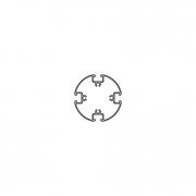 Пустотелый профиль PH 75-4