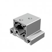 Lagerbock 1 - Ausführung für Kugelgewindespindel Ø16mm