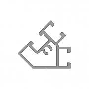 Профиль углового соединения PW 45