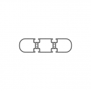 Рамочный и прямоугольный профиль PV 150-2